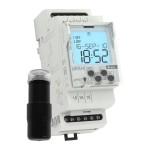 Сумеречный контактор SOU-2 с коммутирующим таймером + датчик