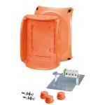 FK 1610 Коробка огнестойкая клеммная 5-полюсная 1,5-10кв.мм 210х155х92 IP65/IP66 оранжевая, Е30-Е90, РН120