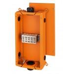 FK 6505 Коробка огнестойкая клеммная 5-полюсная 6-50кв.мм 276х515х138 IP66 оранжевая, Е30-Е90