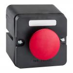Пост кнопочный ПКЕ 212-1-У3-IP40 (красный гриб)-КЭАЗ (2НО)