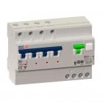 АВДТ с защитой от сверхтоков OptiDin VD63-41C10-A-УХЛ4 (4P, C10, 10mA)