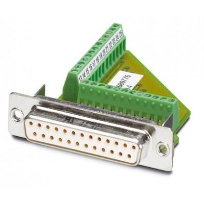 Контактная вставка D-SUB - VS-25-BU-DSUB/25-MPT-0,5 - 1689776