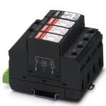 Разрядник для защиты от импульсных перенапряжений, тип 2 - VAL-MS 230/3+1 FM - 2838199