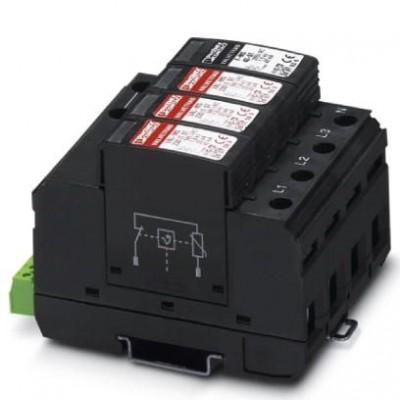 Разрядник для защиты от импульсных перенапряжений, тип 2 - VAL-MS 320/3+1/FM - 2859181