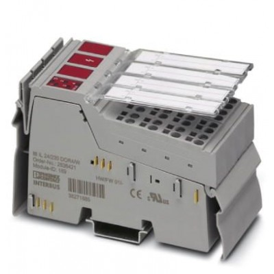 Клеммы Inline - IB IL 24/230 DOR4/W-PAC - 2861878