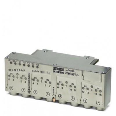Децентрализ. устройство ввода-вывода - IBS RL 24 DI 16/8-T - 2836463