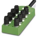 Коробка датчика и исполнительного элемента - SACB- 4/3-L- 5,0PUR QO-0,34 - 1548448