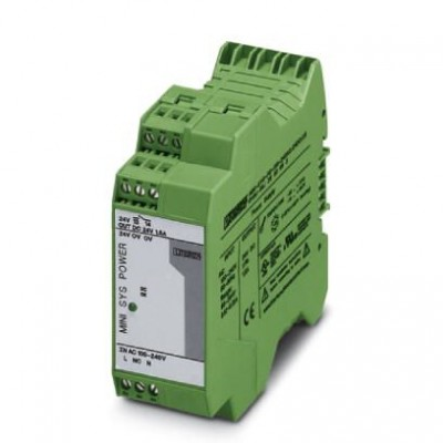 Источники питания - MINI-SYS-PS-100-240AC/24DC/1.5 - 2866983