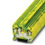 Клемма защитного провода - STS 2,5-TWIN-PE - 3031733