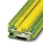 Клемма защитного провода - DT 2,5-QUATTRO-PE - 3034073