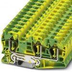 Клемма защитного провода - ST 16-TWIN-PE - 3035344
