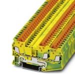 Клемма защитного провода - QTC 1,5-TWIN-PE - 3205064