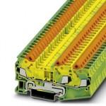 Клемма защитного провода - QTC 2,5-TWIN-PE - 3206474