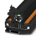 Клеммы для установки предохранителей - QTC 2,5 HESILED 60 (5X20) - 3050390