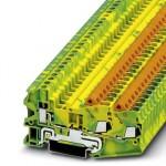 Клемма защитного провода - QTCU 2,5-TWIN-PE - 3050329