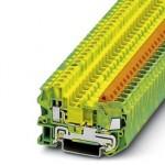 Клемма защитного провода - QTCU 2,5-PE - 3206555