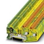 Клемма защитного провода - QTCS 2,5-TWIN-PE - 3050358