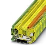 Клемма защитного провода - QTCS 2,5-PE - 3206526