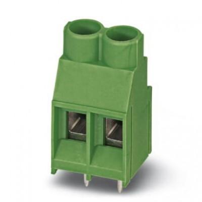 Клеммные блоки для печатного монтажа - MKDS 5/ 2-6,35 BK Z1L - 1933613