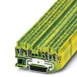 Клемма защитного провода - ST 1,5-QUATTRO-PE - 3031209