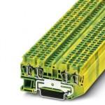 Клемма защитного провода - ST 2,5-QUATTRO-PE - 3031322