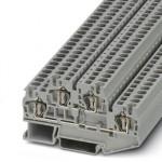 Двухъярусная пружинная клемма - STTB 4 - 3031429