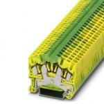 Клемма защитного провода - STS 2,5-QUATTRO-PE - 3031759