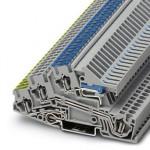 Заземляющие клеммы для выполнения проводки в зданиях - STI 2,5-PE/L/NT - 3031827