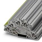 Заземляющие клеммы для выполнения проводки в зданиях - STI 2,5-PE/L/L - 3031830