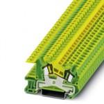 Заземляющие клеммы для выполнения проводки в зданиях - STI 2,5-PE - 3031937