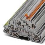 Заземляющие клеммы для выполнения проводки в зданиях - STI 2,5-PE/L/LTB - 3032130