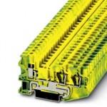 Клемма защитного провода - STU 4-TWIN-PE - 3033074