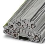 Заземляющие клеммы для выполнения проводки в зданиях - STI 2,5-PE/L/LB - 3035205
