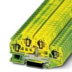 Двухъярусная заземляющая клемма - STTB 4-PE - 3036039