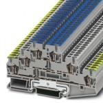 Заземляющий клеммный модуль с пружинными зажимами - ST 2,5-PE/L/N - 3036084