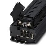 Клеммы для установки предохранителей - ST 4-HESI (6,3X32) - 3036385