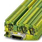 Клемма защитного провода - ST 6-TWIN-PE - 3036482