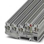Клеммный модуль для подключения датчиков и исполнительных элементов - STIO 2,5/4-3B/L-LA24RD/O-M - 3209154