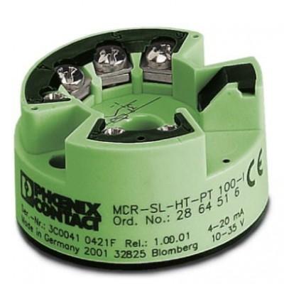 Измерительный преобразователь - MCR-SL-HT-PT 100-I - 2864516