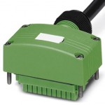 Разъем с кабелем - SACB-C-H180-4/ 4- 5,0PUR SCO - 1516353