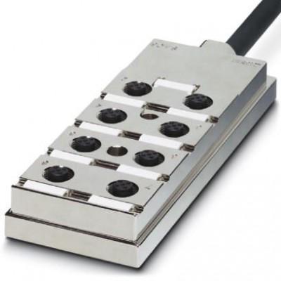 Коробка датчика и исполнительного элемента - SACB-4/ 8- 5,0PUR SH - 1695786