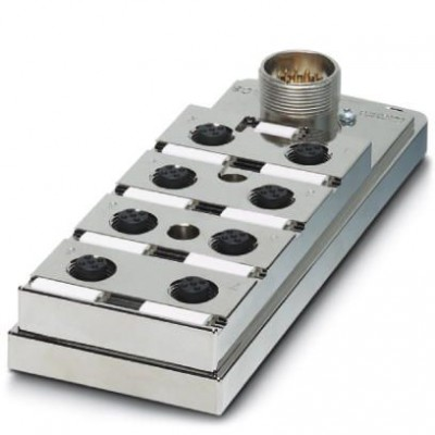 Коробка датчика и исполнительного элемента - SACB-6/12-M23 SH - 1695760