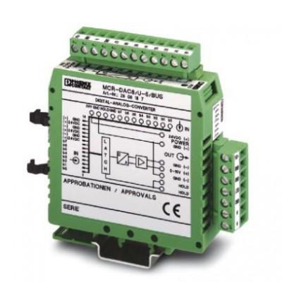 Преобразователь - MCR-DAC 8-U-10-BUS - 2808190