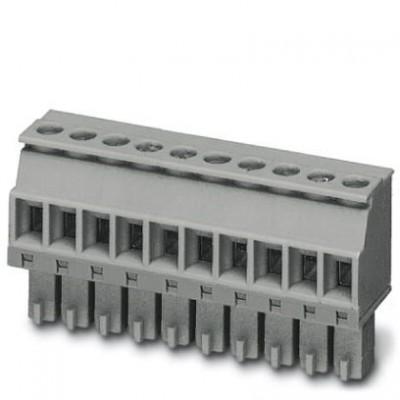 Разъем печатной платы - MCVR 1,5/10-ST-3,81 KMGY AU - 1936186