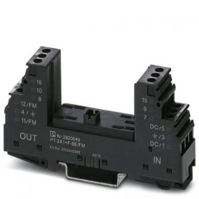 Базовый элемент для защиты от перенапряжений - PT 2X1+F-BE/FM - 2920049