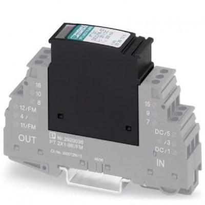 Штекерный модуль для защиты от перенапр-й - PT 2X1- 5DC-ST - 2856061
