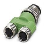 Y-разветвитель - SAC-3P-M12Y/2XM 8FS - 1683471