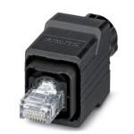 Штекерный соединитель RJ45 - VS-PPC-C1-RJ45-POBK-PG9-4Q5-OL - 1404142