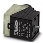 Штекерный модуль для электромагнитного клапана - SACC-V-3CON-PG9/A-1L-S - 1671137