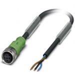 Кабель для датчика / исполнительного элемента - SAC-3P- 5,0-PVC/M12FS - 1400505